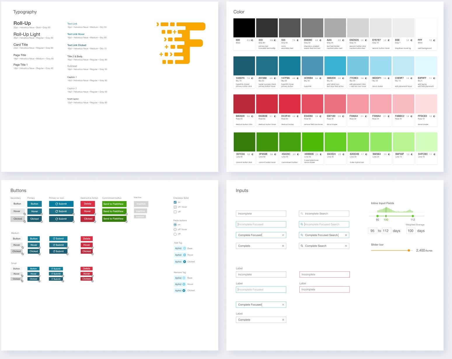 Design System UI Sample